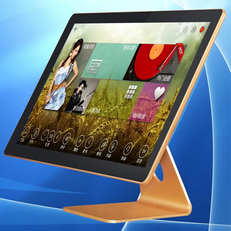 平板电容触摸屏|KTV点歌系统用的电容触摸屏|超薄耐用灵敏点歌台