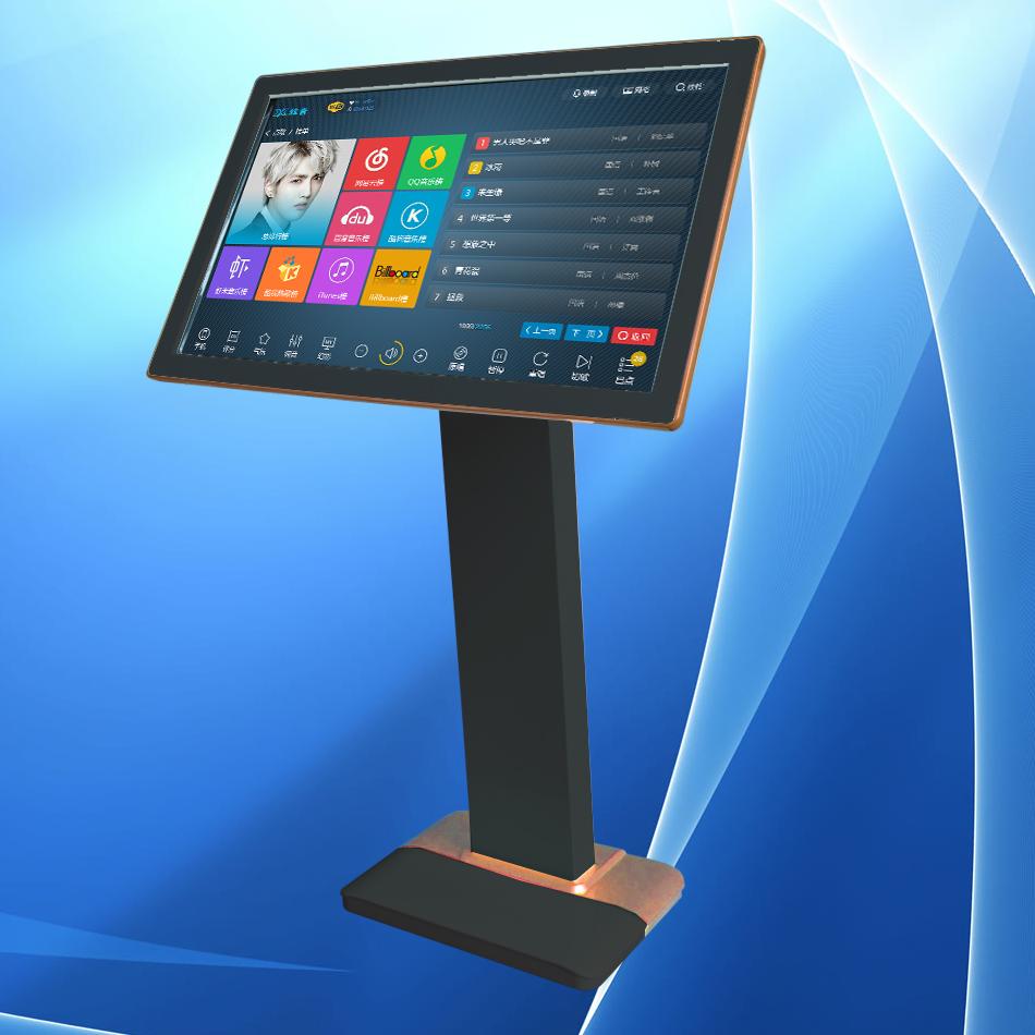 19寸触摸屏显示器 KTV点歌触摸屏点歌台 音王雷石视易点歌机通用